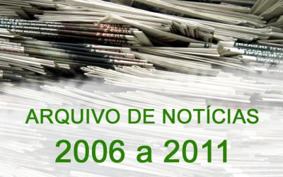 Notícias de 2006 a 2011