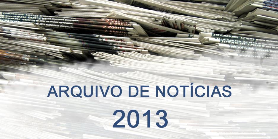 Notícias de 2013