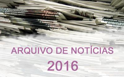 Notícias de 2016