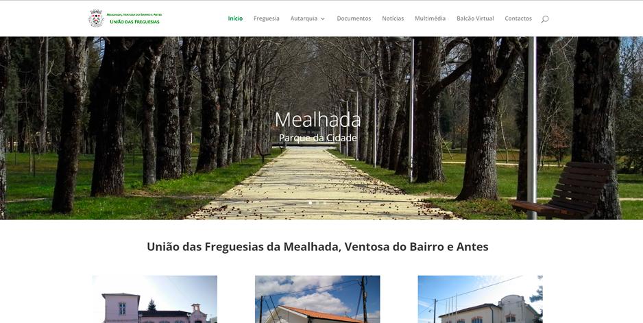 Novo Website da União de Freguesias