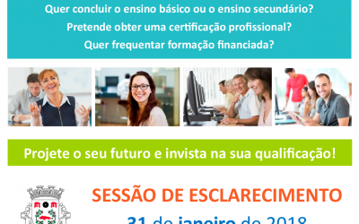 Convite – Sessão Esclarecimento Centro Qualifica