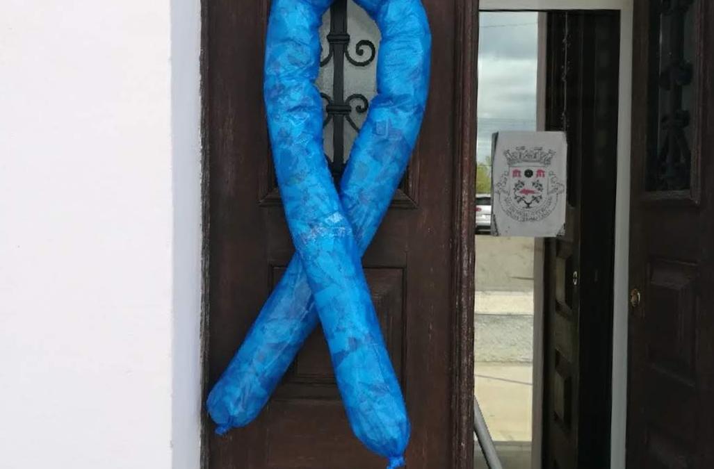 """Campanha do """"Laço Azul"""""""
