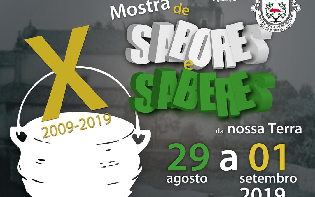 X MOSTRA DE SABORES E SABERES DA NOSSA TERRA