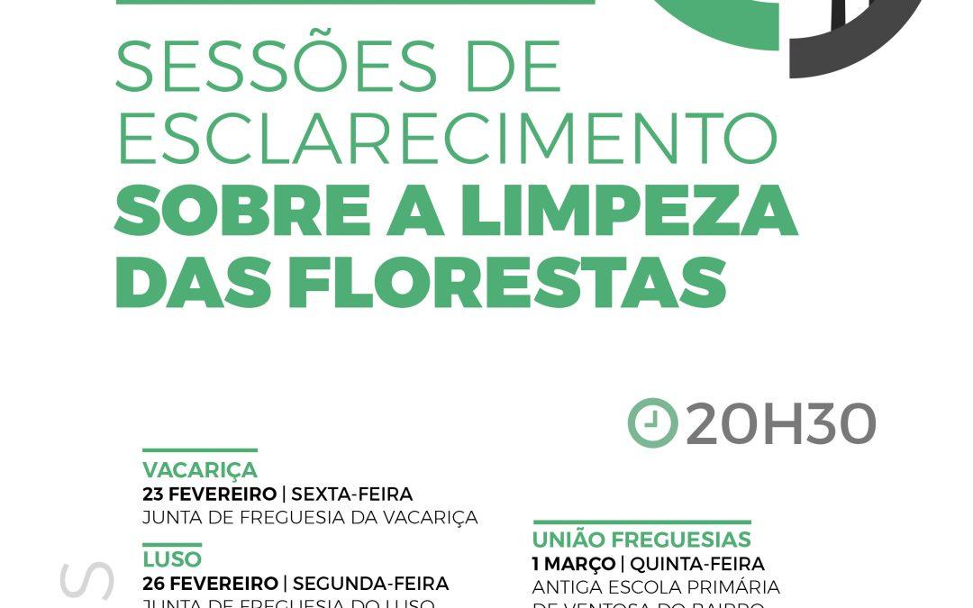 Sessões de Esclarecimento sobre a Limpeza das Florestas
