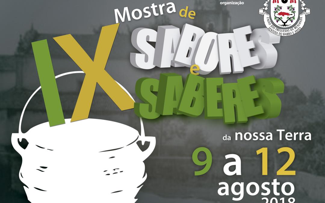 INFORMAÇÃO AOS ARTESÃOS – IX MOSTRA DE SABORES E SABERES DA NOSSA TERRA